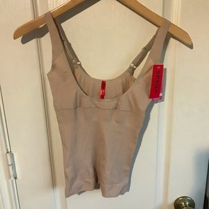 Spanx shape my day open bust camisole NWT